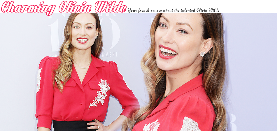Charming Olivia wilde